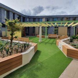 Paling Court Dementia Courtyard